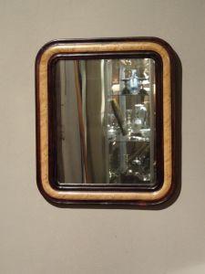"DSC00791 - Hollands ""gehout""  spiegeltje ca. 1870"