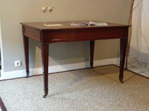 DSC00930 - mahonie schrijftafel 19e eeuw