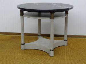 DSC00988 - gueridon tafel, Empire, gepatineerd