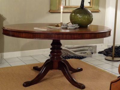 DSC01276 - Engelse ovalen tafel, mahonie, ca. 1850/1870