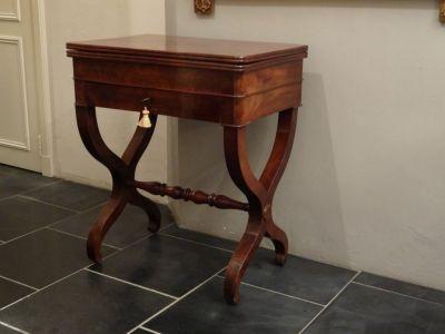 DSC01310 - Engelse speel/wandtafel, mahonie, ca. 1830/1840