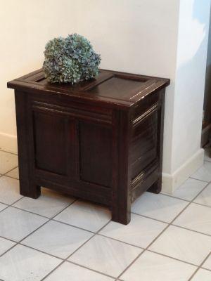 DSC01465 - kleine kist, ca. 1700/1750, eikenhout