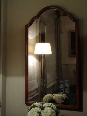 DSC01473 - 19e eeuwse spiegel met houten lijst