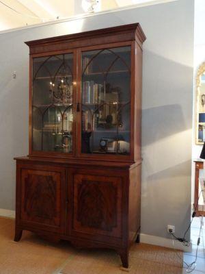 DSC01531 - Engelse bibliotheekkast, ca. 1780